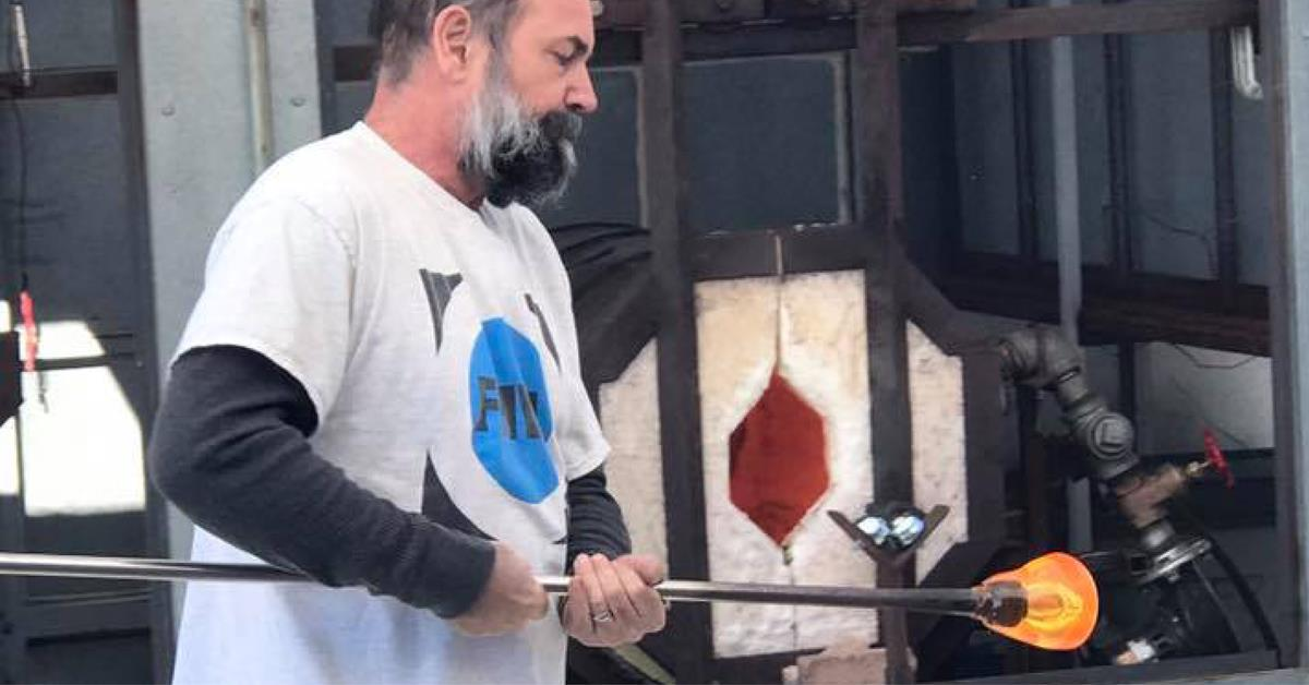 Jon Offutt Glassblowing Demonstrations - image