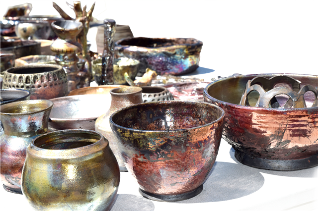 BSC campus hosts community raku, arts crawl, and graphics show - image