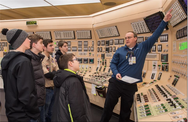 Boy Scouts try their hand at nuclear science at Byron plant - image