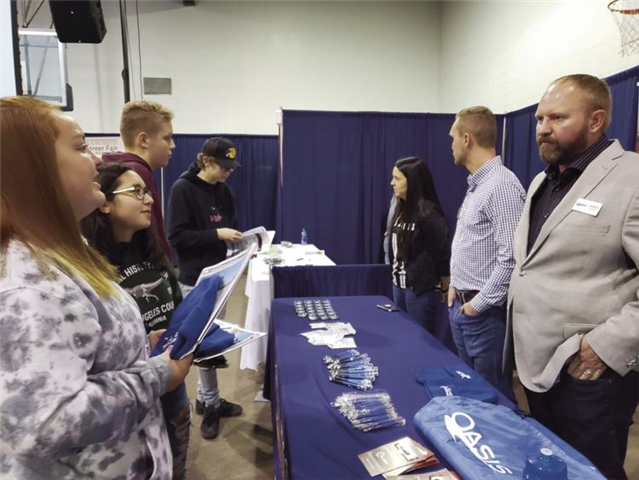 Career fair offers students insider information on career opportunities in oil and gas  - image