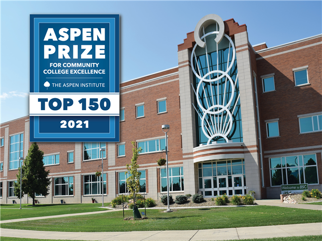 BSC named as a Top 150 Community College eligible for $1 million Aspen Prize for Community College Excellence - image