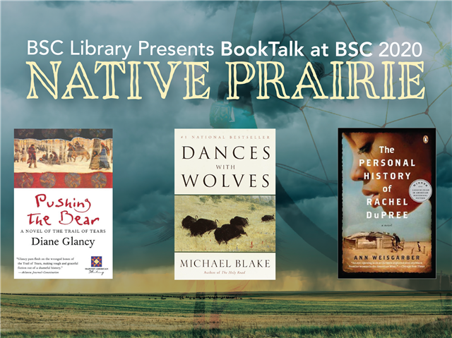 BSC's BookTalk series marks 21 years with a native prairie theme - image
