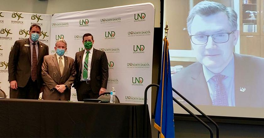 BSC and UND announce collaborative engineering bachelor's degree - image