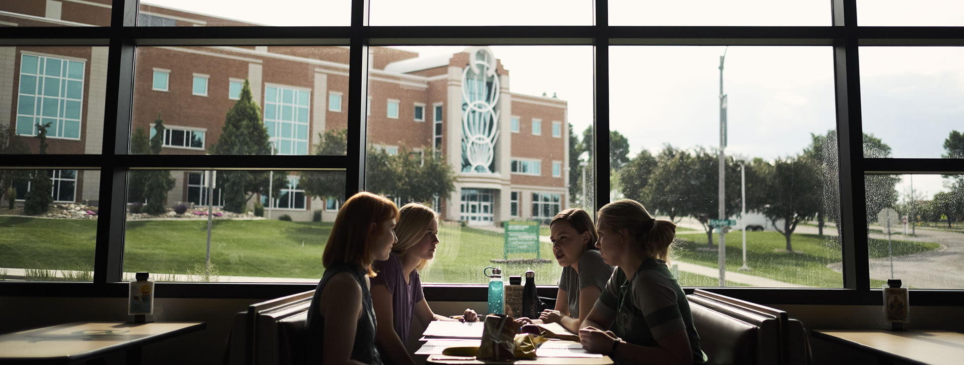 Bismarck State College Image of campus