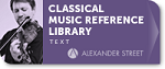 Music Online: Classical Music Reference Library Logo