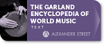 Music Online: The Garland Encyclopedia of World Music Logo