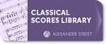 Music Online: Classical Scores Library Logo