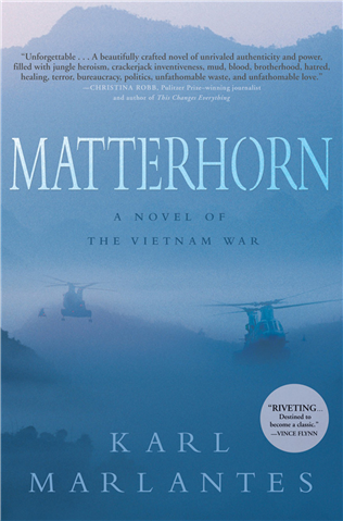 BookTalk at BSC features 'Matterhorn'