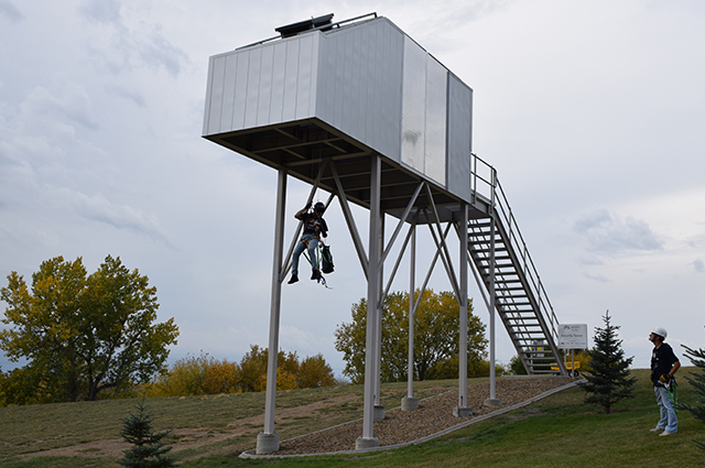 Nacelle training tower at BSC completed