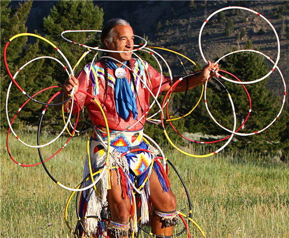Kevin Locke performs at BSC for American Indian Heritage Month