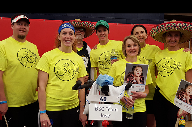 BSC team pedaling for a cause