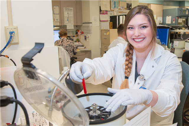 BSC students reflect on career choice during National Medical Laboratory Professionals week