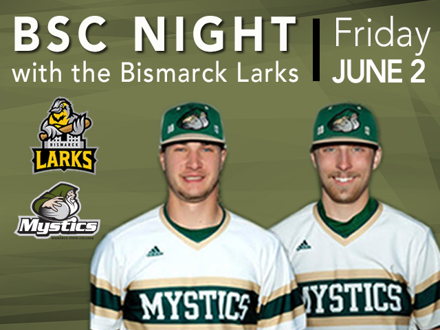 Join BSC and Mystic ballplayers for BSC Night with the Larks