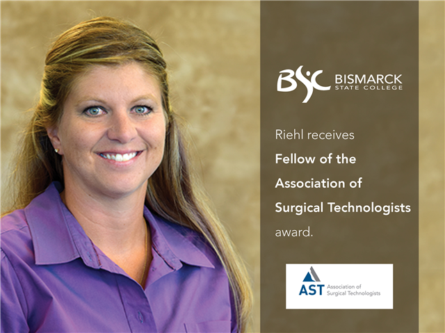 BSC associate professor recognized by Association of Surgical Technologists