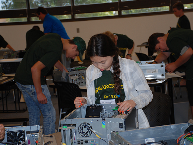 BSC hosts tech camp for middle and high school students