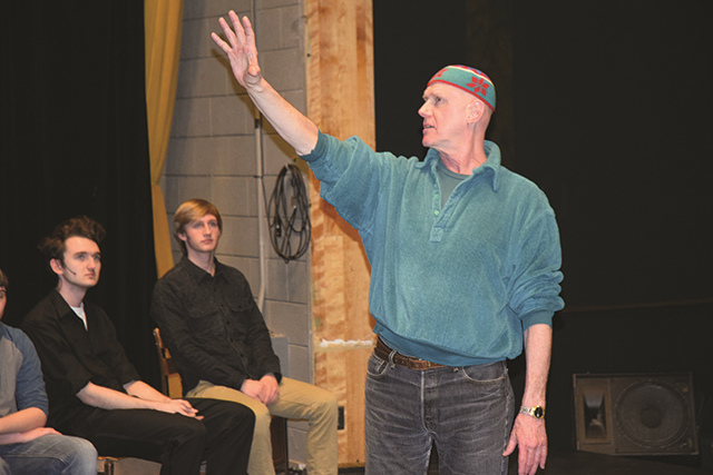 BSC Thespians Work with New York Theater Pro