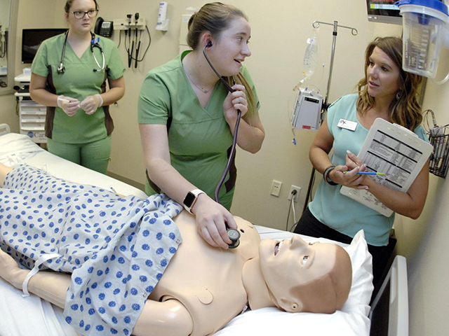 BSC gets grant for mobile nursing simulation lab