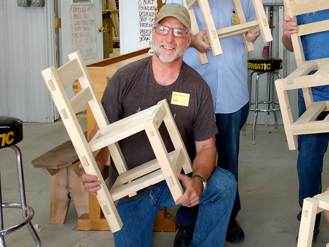 Torgerson Uses Woodworking Skills To Benefit Developing