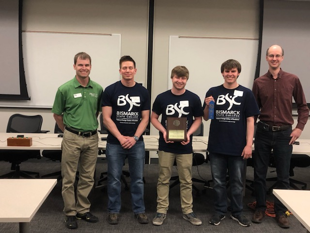 BSC students win, place in regional automation competition