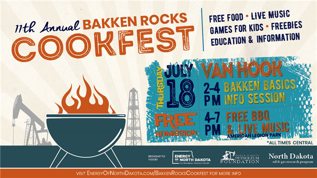 Bakken Rocks CookFest – Van Hook