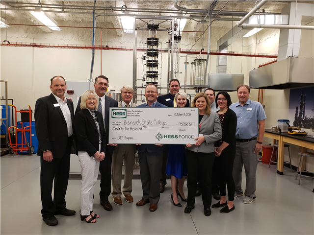 BSC receives donation for JET program