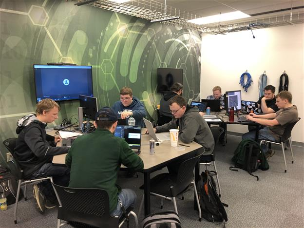 BSC team advances to Collegiate Cyber Defense Regional Competition